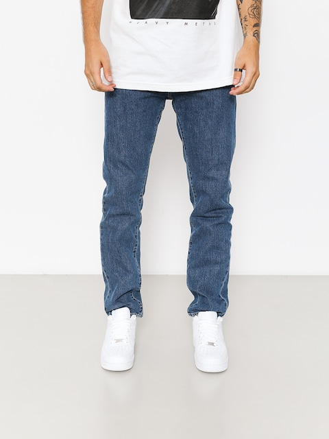 Nohavice Carhartt WIP Klondike (blue denim 12 oz/blue dark stone washed)