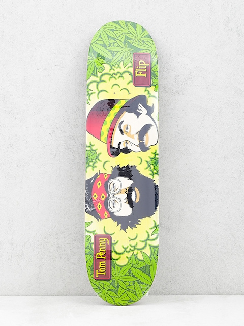 Doska Flip Cheech And Chong (green/yellow)