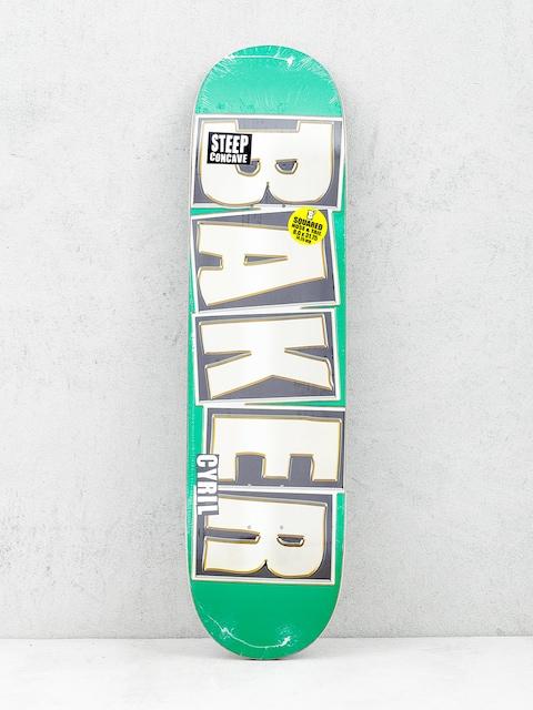 Doska Baker Brand Name (glitter green)