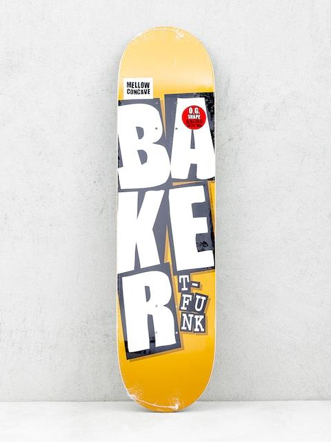 Doska Baker Stacked Name (camel)