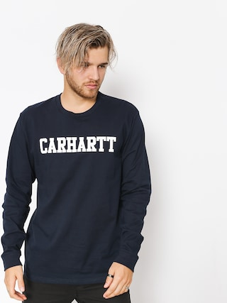 Triko Carhartt WIP College (dark navy/white)