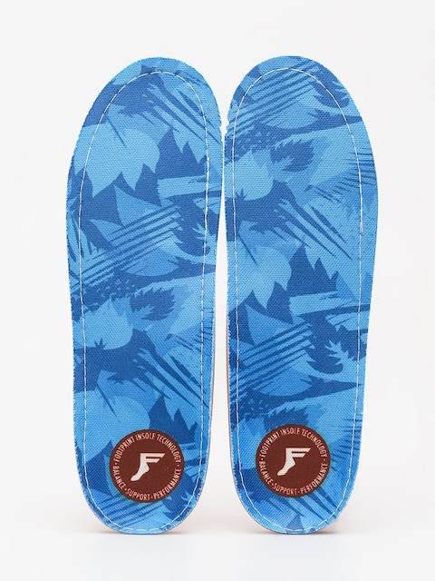 Vložky do topánok Footprint Orthotic Low (blue camo)