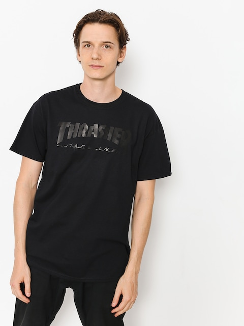 Tričko Thrasher Magazine Logo (black)