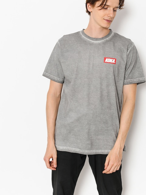 Tričko Koka Mini Boxlogo Prew (dark grey)