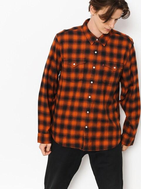Košeľa Levi's Western Shirt (nilgai bombay brown)