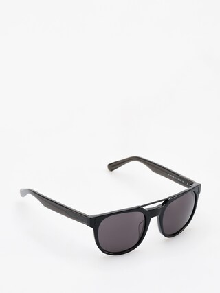 Slnečné okuliare Dragon Mix (shiny black/smoke)