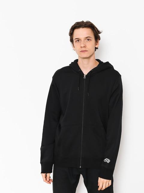 Mikina s kapucňou Nike SB Sb Icon Essnl ZHD (black/black)