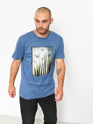 Tričko Quiksilver Quiv Central (bijou blue)