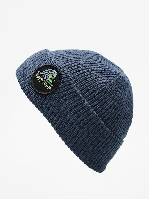 Čiapka Quiksilver Performed Patch 2 Beanie (dark denim)