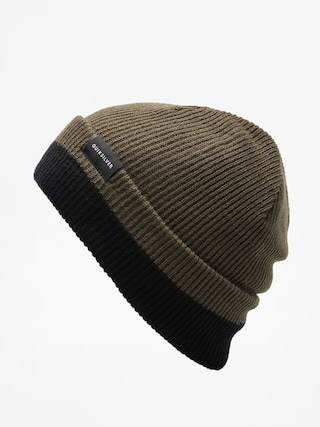 u010ciapka Quiksilver Performed Color Block 2 Beanie (forest night)