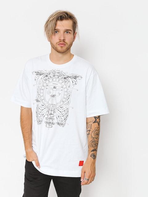 Tričko Stoprocent Vinci (white)