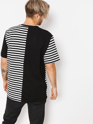 Tričko The Hive Black N Stripes (black/white)