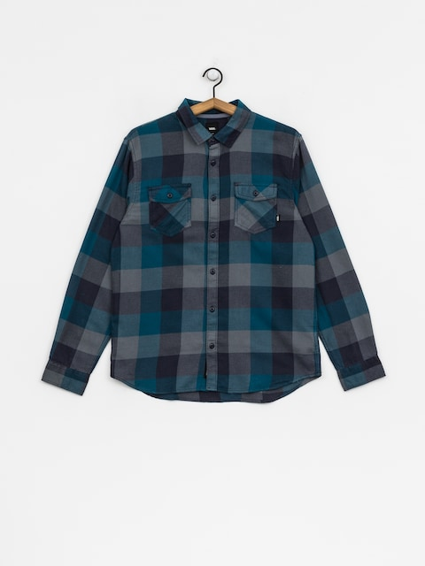 Košeľa Vans Box Flannel (corsair/stormy weather)