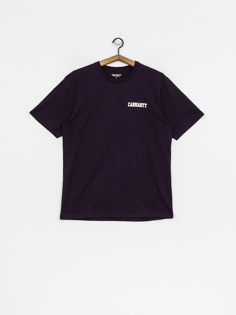 Tričko Carhartt WIP College Script (lakers/white)