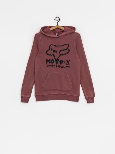 Mikina s kapucňou Fox Drip HD Wmn