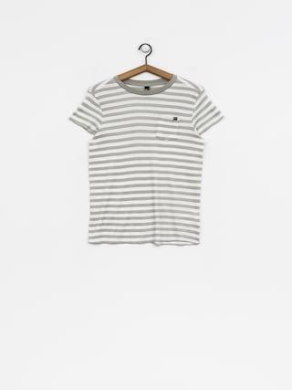 Tričko Fox Striped Out Wmn (wht)