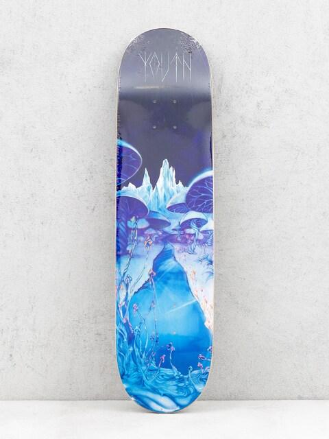 Doska Youth Skateboards Mushrooms (blue/black)
