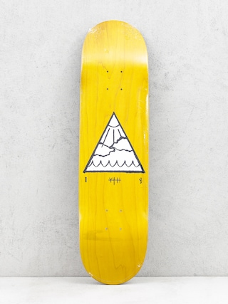 Doska Youth Skateboards Triangle Logo (yellow)