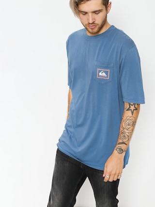 Tričko Quiksilver Original Check Pt (bijou blue)