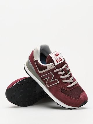 Topánky New Balance 574 Wmn (burgundy)