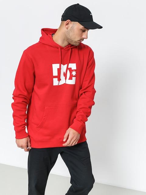 Mikina s kapucňou DC Star HD (tango red)
