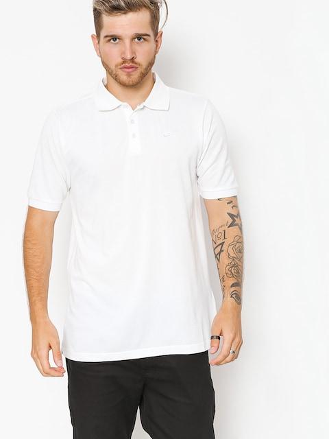 Polo tričko Nike SB Sb Dri Fit Pique (white)