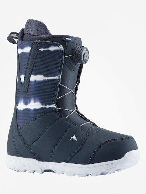 Obuv na snowboard Burton Moto Boa (midnite blue)