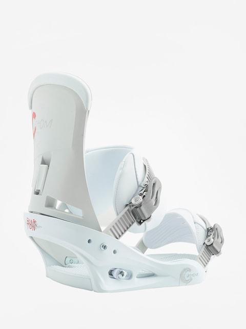 Snowboardové viazanie Burton Custom (white)