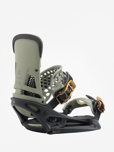 Snowboardové viazanie Burton Malavita Est (black/gray)