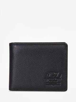 Peu0148au017eenka Herschel Supply Co. Hank Coin Leather Rfid (black pebbled leather)