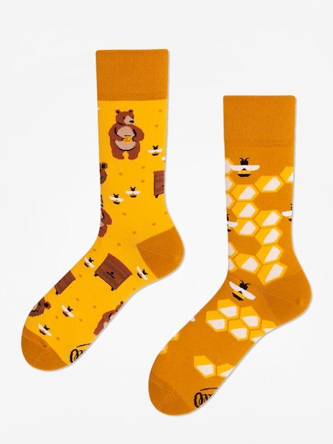 Ponožky Many Mornings Honey Bear (gold)