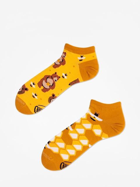 Ponožky Many Mornings Honey Bear Low (gold)
