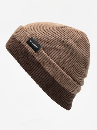 Čiapka Quiksilver Performed Color Block 2 Beanie (chocolate brown)