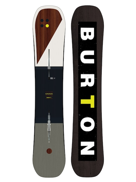 Snowboard Burton Custom (multi/yellow)