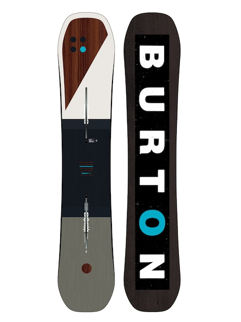 Snowboard Burton Custom Flying V (multi/blue)