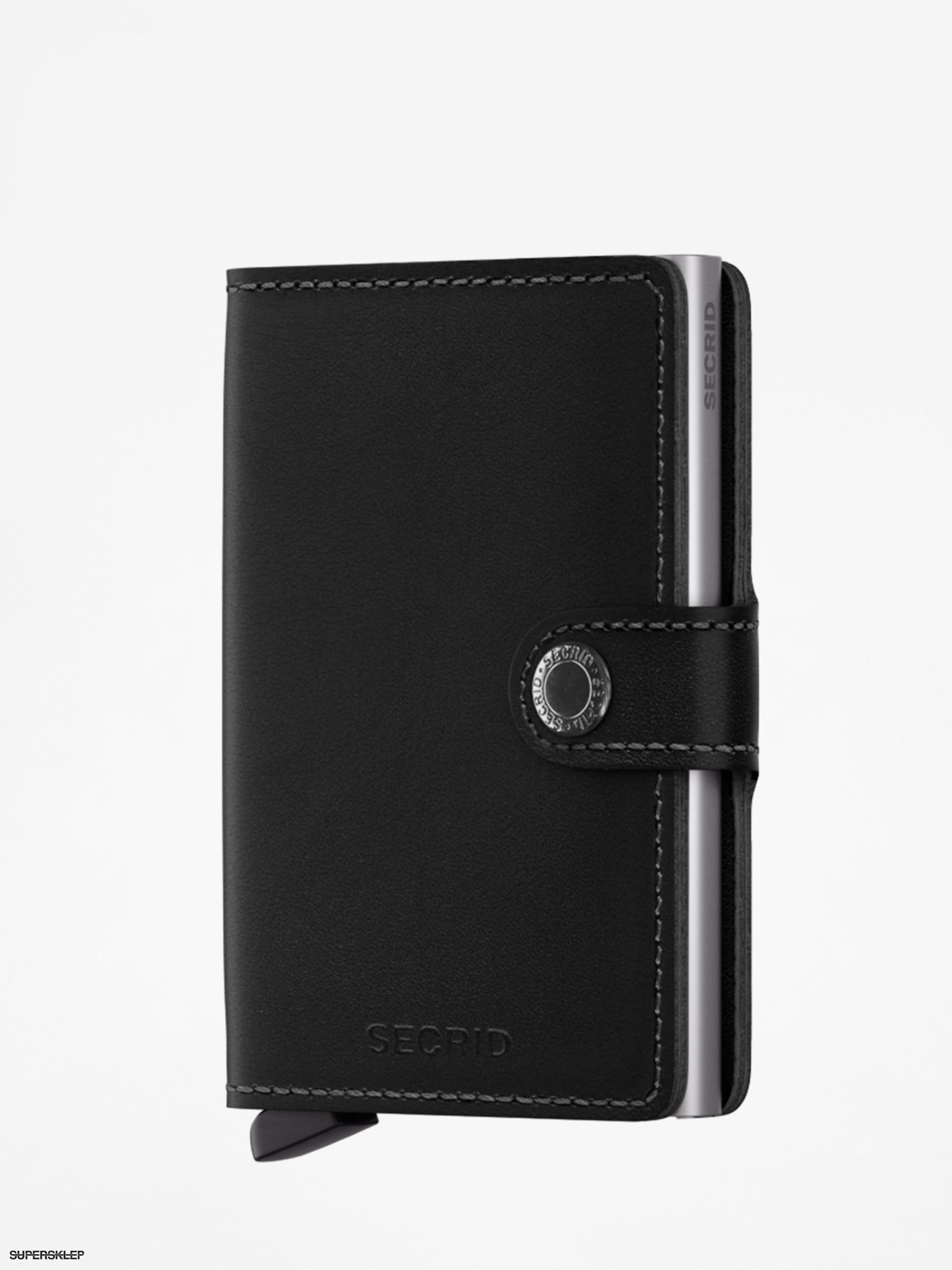 74879be659 Peňaženka Secrid Miniwallet (black)