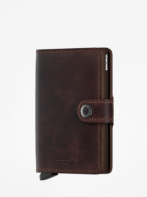 Peňaženka Secrid Miniwallet (vintage chocolate)