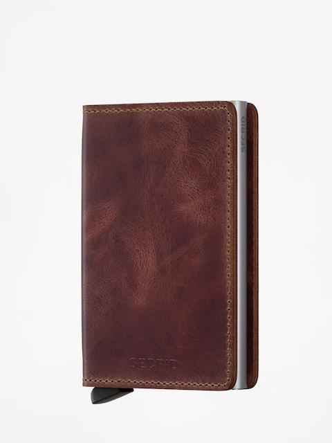 Peňaženka Secrid Slimwallet (vintage brown)