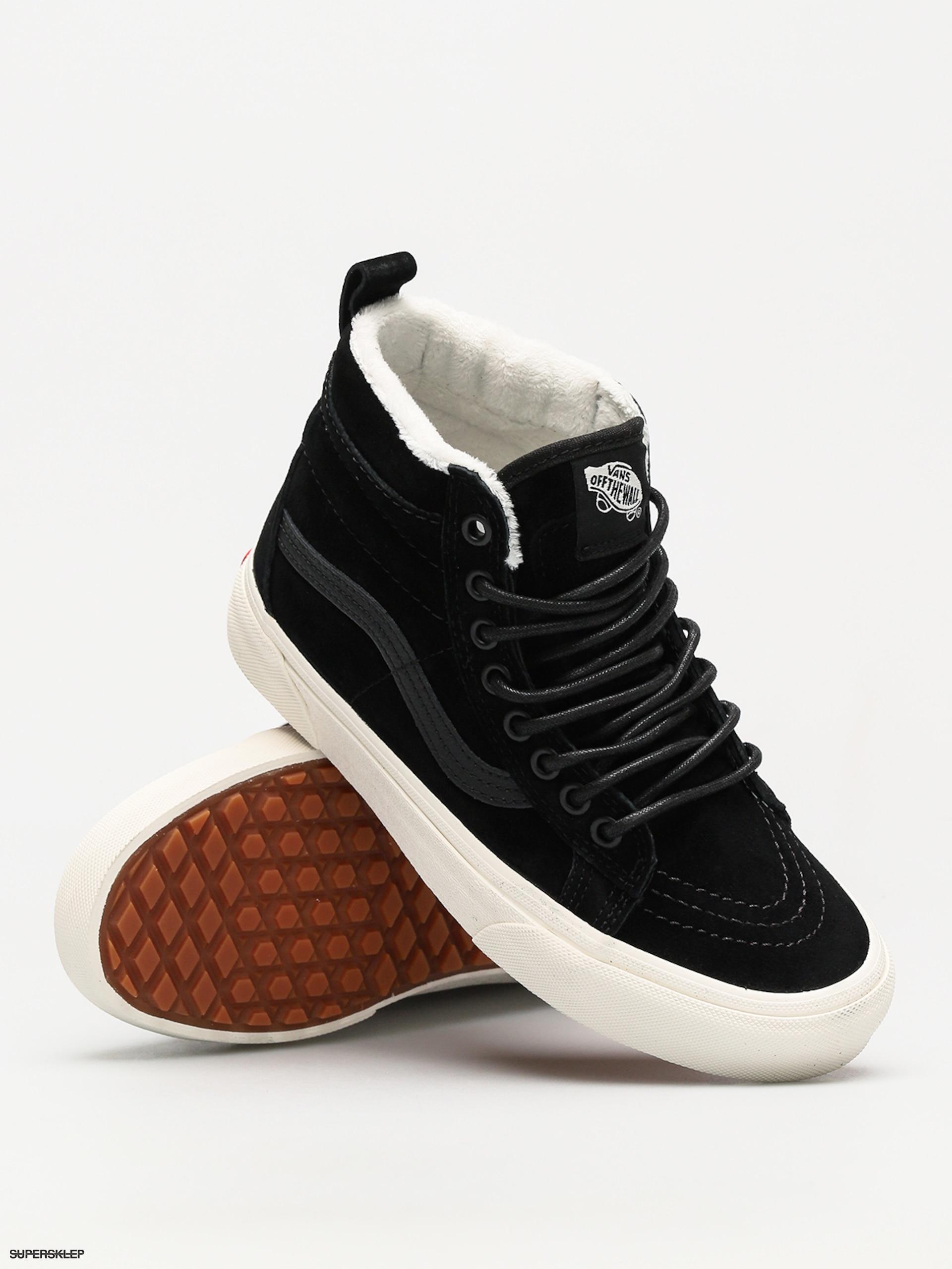 Topánky Vans Sk8 Hi Mte (black black marshmallow) b97b154e8e6