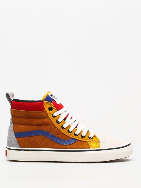 Topánky Vans Sk8 Hi Mte (sudan brown/mazarine blue)