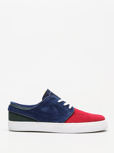Topánky Nike SB Zoom Stefan Janoski (red crush/blue void white midnight green)