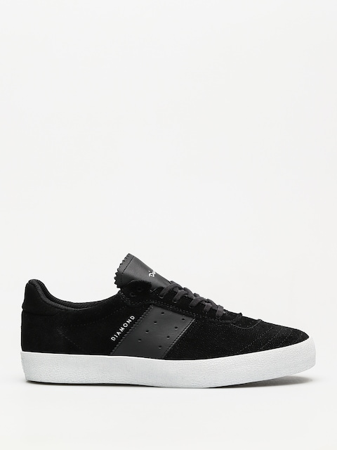 Topánky Diamond Supply Co. Barca Suede (black/black)