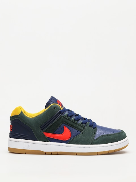 Topánky Nike SB Sb Air Force II Low (midnight green/habanero red blue void)
