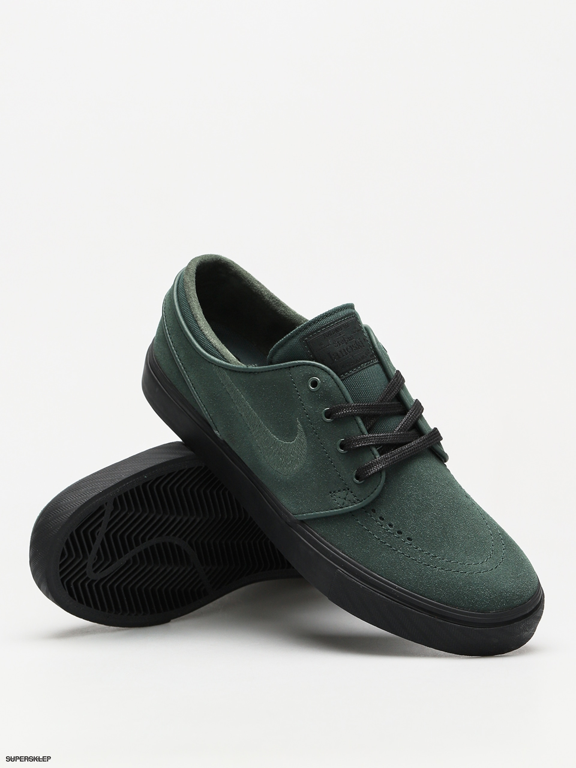 Abrazadera pared Subvención  Topánky Nike SB Zoom Stefan Janoski (midnight green/midnight green black)
