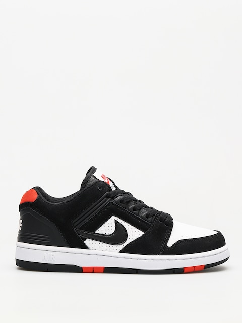 Topánky Nike SB Sb Air Force II Low (black/black white habanero red)