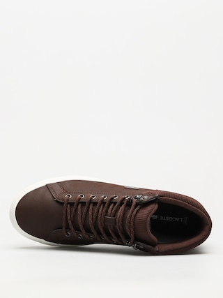 Topánky Lacoste Straightset Insulac 3181 (dark brown/dark brown)