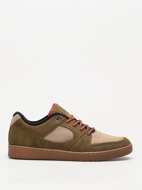 Topánky Es Accel Slim (brown/tan/gum)