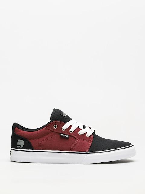 Topánky Etnies Barge Ls (black/white/burgundy)