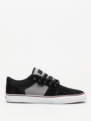 Topánky Etnies Barge Ls (black/dark grey/silver)
