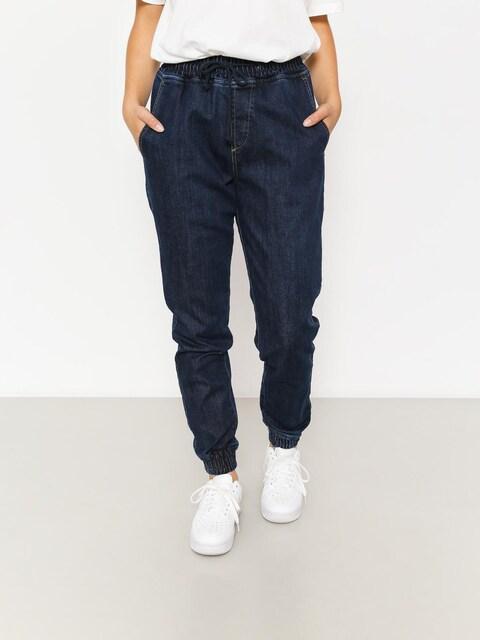 Nohavice Diamante Wear Rm Jeans Jogger Wmn (navy jeans)